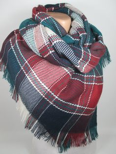 Blanket scarf Plaid scarf shawl fall winter Flannel scarf Oversize Cowl scarf Women Fashion Accessories Christmas gifts for her for women Holiday MelScarf Gentle cold hand wash seperately Do not bleach Iron Cool Do not tumble dry You can also see other kinds of my blanket scarves from below link; https://www.etsy.com/shop/MelScarf?ref=ss_profile&section_id=19997374 You can see other scarves of my shop from below link; https://www.etsy.com/shop/MelScarf?ref=shopsection_shophome_leftnav ...