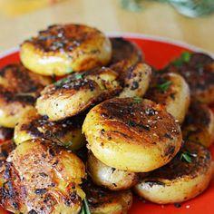 Crispy-Outside Creamy-Inside Garlic Herb Potatoes Recipe - Key Ingredient