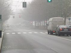 Foggy day in Milan by TheOneFrancis