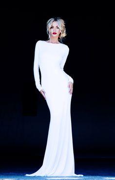 white maxi dress / monaco dress // lurelly