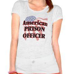 American Prison Officer Tee T Shirt, Hoodie Sweatshirt
