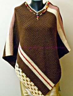 Purple Butterfly Crochet Collection: Crocheting Ponchos for the ...