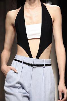 Sports Luxe ☆ Barbara Bui Ready To Wear Spring Summer 2014 Paris - NOWFASHION