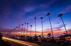 """""""Cool #sunset view from Cardiff by the Sea, California. Photographed 12/20/15. #ItsAmazingOutThere : @la_vida_escondida"""""""