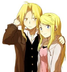 The Perfect Couple From Fullmetal Alchemist Ed X Winry