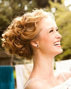 natural curly updos - Google Search