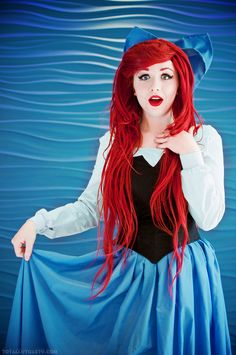 My voice? #Ariel (from The Little Mermaid) #cosplay by McGinge.deviantart.com