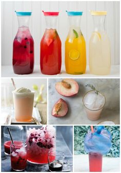 5 perfect summer party nonalcoholic drink recipes! These sips are refreshing, delicious, and great for a warm summer day.