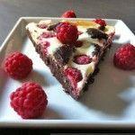 Die göttlichen Himbeer Cheesecake Brownies