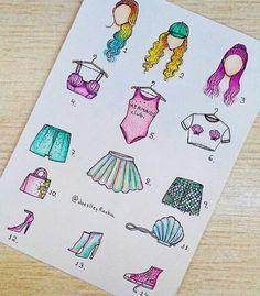 Fashion drawing model 23 Ideas for 2019 Kawaii Drawings, Art Drawings Sketches, Disney Drawings, Easy Drawings, Fashion Design Drawings, Fashion Sketches, Fashion Drawings, Arte Fashion, Fashion Hair