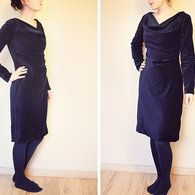 Cowl Dress 10/2012 #118A – Sewing Patterns | BurdaStyle.com $5.40