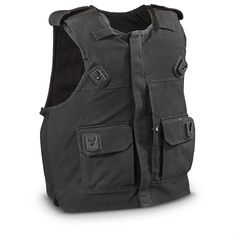 Used British Military Surplus Stab-proof Vest, Black. For Amy Pond Kissogram Cosplay
