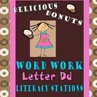 This is a collection of 9 stations including activities such as Create a Book, Stamp and Write, Back to Back Game and more...Plus Alphabet Soup, ABC Order Delicious Donuts,  Dictation Assessment, handwriting practice, and MUCH more! $