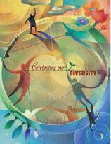 Celebrating Our Diversity - Poster Diversity Poster, Unity In Diversity, Cultural Conflict, Pray For Peace, One Tree, Optimism, Digital Media, Fantasy, Celebrities