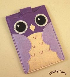 Handmade Felt Kindle Case Kindle 3 Cover Kindle Fire by ohmycake