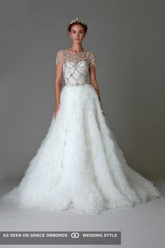 marchesa couture wedding dress