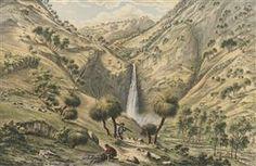 Fall of the First Creek, near Glen Osmond, South Australia - Eugene von Guerard