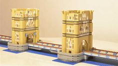 Lego London Tower Bridge Build