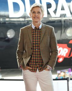 Pin for Later: These Stars' Real Ages Will Blow Your Mind Ellen DeGeneres, 57 Perhaps it's the daily dance breaks that keep 57-year-old Ellen DeGeneres looking so spry!