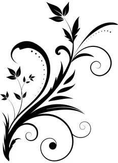 Stencil Patterns, Stencil Art, Stencil Designs, Painting Patterns, Arabesque, Swirl Tattoo, Glass Etching Stencils, Deco Cuir, Plasma Cutter Art