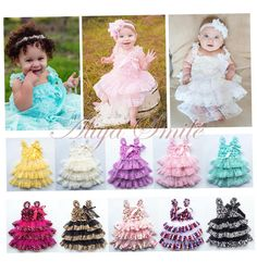 Baby Girls Toddler Layered Lace Tulle Tutu Fancy Birthday Party Dress Size 12M-3 #Fashion #1PCDressClothes #DressyEverydayHolidayPageantCasual