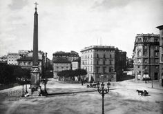 Piazza dell'Esquilino (1895) Best Cities In Europe, Vintage Images, Street View, City, Rome, Pictures, Vintage Pictures, Cities