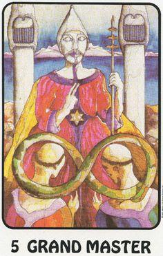 Grad Master (The Hierophant) - Karma Tarot