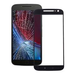 [$2.91] iPartsBuy for Motorola Moto G4 Front Screen Outer Glass Lens(Black)