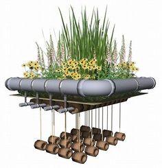 Bio Garden floating island water treatment