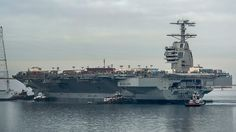 Next Big Future: USS Gerald Ford aircraft carrier scheduled for commissioning this summer