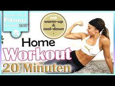 Workout für Zuhause - 20 Min HIIT für Anfänger & Fortgeschrittene - Ganzer Körper trainieren - YouTube