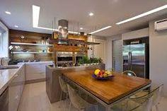 Construindo Minha Casa Clean: Salas de Jantar Pequenas com Mesas Encostadas - na Parede e na Bancada!