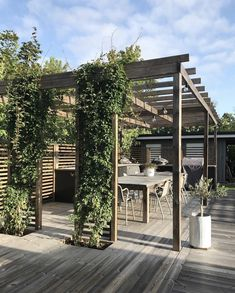 Planning Your Pergola Diy Pergola, Outdoor Pergola, Backyard Patio, Backyard Landscaping, Outdoor Spaces, Outdoor Living, Small Pergola, Pergola Shade, Pergola Designs