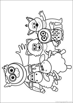 Timmy Time Coloring Pages 4