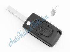 Citroen négy (4) gombos bicskakulcsház, HU83 szárral, elemtartóval. Elem, elektronika és immobiliser chip nélkül. Logót, márkajelzést nem tartalmaz.  http://autokulcsbolt.hu/citroen-kulcshazak/citroen-negygombos-bicskakulcshaz-HU83-szarral-elemtartoval