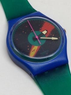 A personal favorite from my Etsy shop https://www.etsy.com/listing/248529191/vintage-swatch-watch-cosmic-encounter