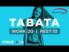 Workout music formatted for your TABATA training session complete with vocal…
