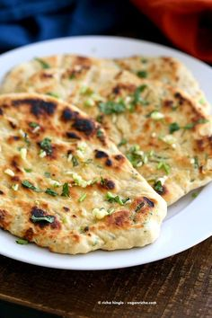 Garlic Flatbread Recipe No Yeast