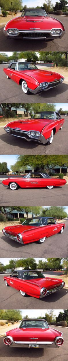 1963 Ford Thunderbird.Re-pin brought to you by agents of #carinsurance at #houseofinsurance in Eugene, Oregon