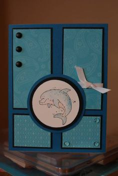 Dolphin Joy by bigfootbecky - Cards and Paper Crafts at Splitcoaststampers