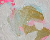 Neon and Neutral Abstract Painting by Laura W Taylor