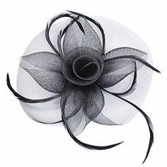 Uryouthstyle Black Sinamay Wedding Hair Fascinators Cockt... http://www.amazon.com/dp/B01E8EXUDC/ref=cm_sw_r_pi_dp_S28oxb0VAZ2KV