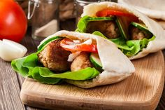 Healthy Falafel In Pita Recipe – Kayla Itsines