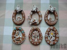 Velikonoční vajíčka., veľkonočné   Medovníky Artmama.sk Washer Necklace, Jewelry, Jewellery Making, Jewerly, Jewelery, Jewels, Jewlery, Fine Jewelry, Accessories