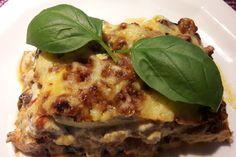 Zucchini-Lasagne 1 Zucchini Lasagne, Lasagna, Waffles, Breakfast, Ethnic Recipes, Food, Ideas, Yummy Food, Food And Drinks
