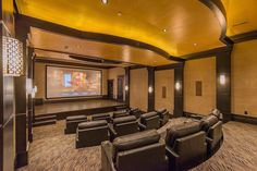 Home movie theater!!!! I need one!!