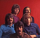 MOODY BLUES UK group in 1967 - Stock Photo