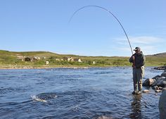 Fly fishing lessons, Spey casting, fly casting and fly fishing trips.
