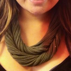 my t-shirt necklace - pinterest inspired