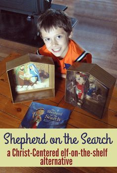 Finally! A Christ-Centered Alternative to Elf on the Shelf! love this and Can't wait to do it with my boys this year!
